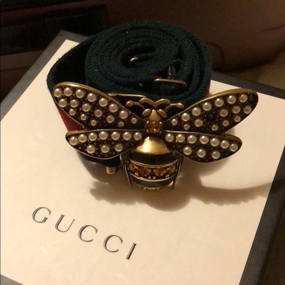 Coffee Women Fashion Floral Belt Decorative Belt Butterfly Belt Buckle